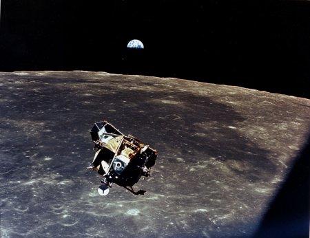 С Луны на Землю
